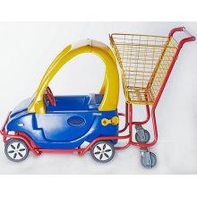 Kindertrolley mit Kunststoff