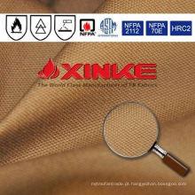 Chama tecida da sarja do algodão 100% - tela retardadora da lona