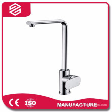 kitchen tap with cold and hot hose german brush nickel kitchen tap