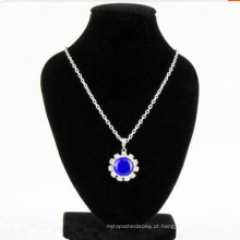 Venda por atacado do suporte de exposição da colar da jóia do rebanho do MDF (NS-BKV-44)