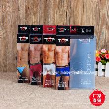 Embalaje de impresión de plástico para ropa interior (boxer de los hombres)