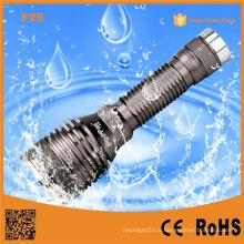 F25 перезаряжаемые защитный Ipx7 водонепроницаемый светодиодный фонарик Alluminum