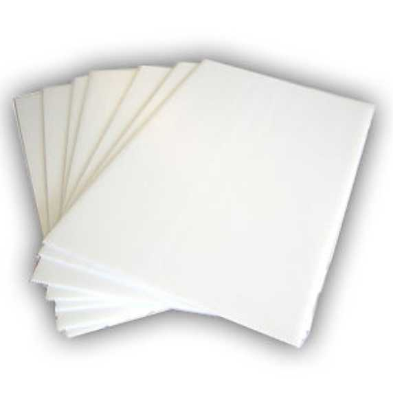 Milky white plastic sheet