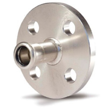 28 En 316L Pipe Fittings Flange with Press-Joint