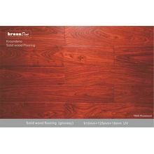 Customed A + Grade Rosewood Solid Wood Flooring For Market / Office