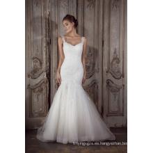 (XF161-31) vestidos de novia de la sirena China