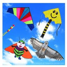 Werbungs-bunter populärer Nylonfliegen-Drachen