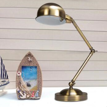 Energy-saving Satin Bronze Led Desk Lamps