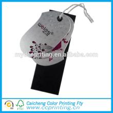 Jeans papel hant etiqueta lavandería etiqueta papel