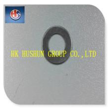 Chaînes en fer avec placage en nickel, rondelle plate à laveuse à ressort utilisée dans l'écrou M6 (HS-SW-008)