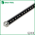 music activated RGB dmx led tubes 3D meteor light for club, stage lighting