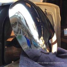 Acero inoxidable 300 # pulido elipsoidal Head Caps