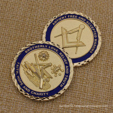 2015 Custom Challenge Coin Metal Masonic Coins for Souvenir