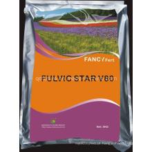 Fertilizante orgânico ácido fúlvico