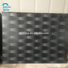 vente chaude et partition de verre imprimé décoratif en soie de haute qualité