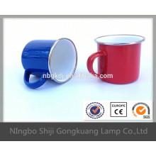 enamel handle tea mug with modern kitchen designs