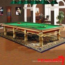 TB-UK004 Leiceste 12ft snooker table jeux de billard
