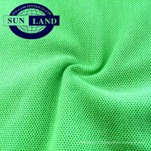 Polyester 60% polyester 40 coton recouvert de polyester CVC pour polo