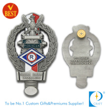 Canada Police Badge in Customized Design with Zinc Alloy