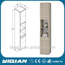 Moderne Melamin-Side-Vanity-Wand hängenden Holz Home Storage Cabinet Küche Modern Floating Cabinet Melamin Side Vanity