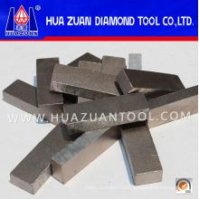 Soudage à haute fréquence 24 * 8 * 13mm Segment Chine Diamant segments pour la coupe de béton armé