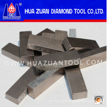 High-Frequency Welding 24*8*13mm Segment China Diamond Segments for Reinforced Concrete Cutting