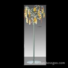 Zhongshan modern glass  floor lamp