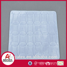 Water absorbent memory anti-slip foam bath mats floor mats