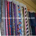 Tecido de impressão colorida Floral bonita para vestido / vestuário agradável