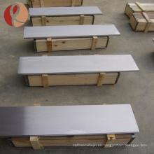 hoja de metal de molibdeno 0.5mm-5mm de espesor