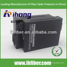 10/100 / 1000M Fiber Optic Media Converter Multimode Dual-Faser-SC-Anschluss