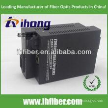 10/100/1000M Fiber Optic Media Converter multimode dual fiber SC port