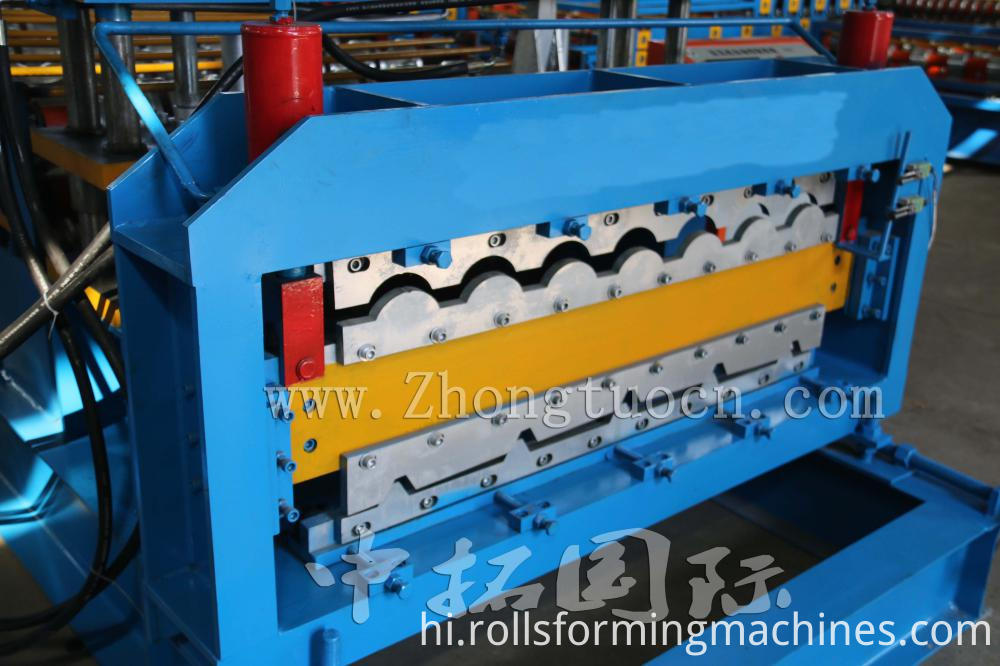 Double Layer Tile Roof roll forming machine