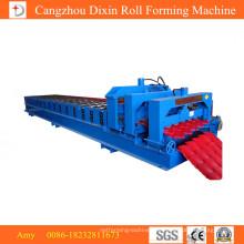 Hochwertige maßgeschneiderte glasierte Fliesen-Rollformmaschine Roll