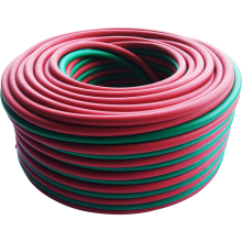 Rubber twin welding hose