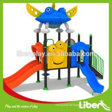 Stahl, Kunststoff, Aluminium, verzinktes Stahlrohr, LLDPE Material und Outdoor Spielplatz Typ Vorschule Ausrüstung LE.XK.008