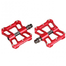High Demand Machined Red Anodized Mountain Bike Pedals