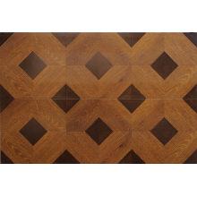 Hogar 8,3 mm en relieve de roble encerado piso laminado