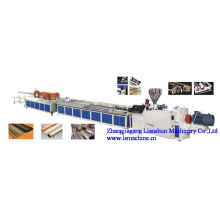 CE/SGS/ISO9001 PVC Profile and Wood-Plastic Extrusion Line