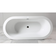 Beautiful Acrylic Freestanding Bathtub for Indoor Use