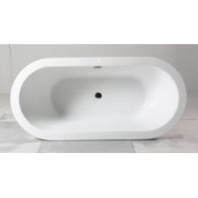 Красивая акриловая автономная ванна для внутреннего использования