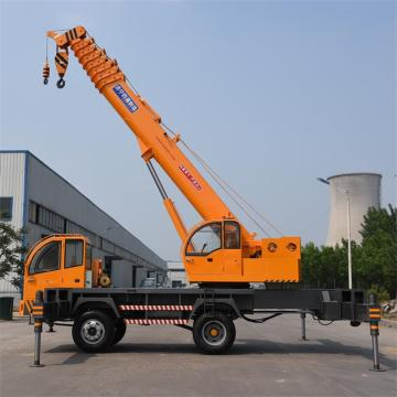 16 Ton Telescopic Boom Mini Truck Mounted Crane
