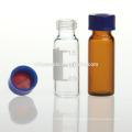 2ml 9-425 amber glass screw thread chemical vial
