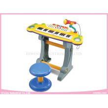 Jouets d'apprentissage multifonctionnel jouet instrument de musique avec des lampes de poche