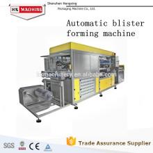 Aprovação CE / SGS vacuum forming termoformagem da máquina