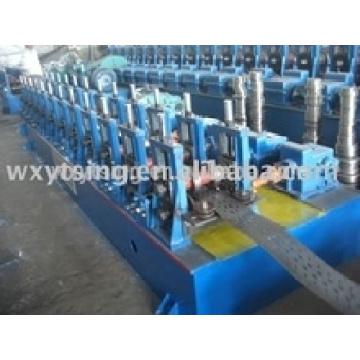 YTSING-YD-4834 Machine de fabrication automatique de plate-forme de câble de haute qualité, machine de fabrication de plateau de câble, Machine de formation de rouleau froid