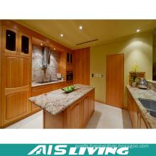 Shaker Melamine Veneer Kitchen Cupboard Furniture (AIS-K373)