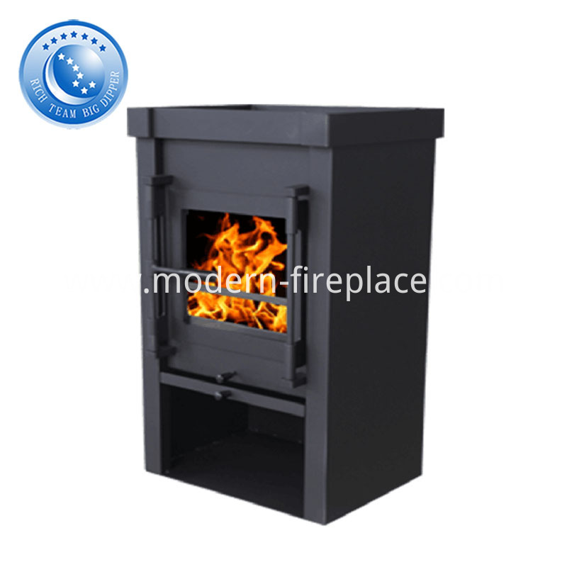China CE Certification Steel Wood Burning Fireplace