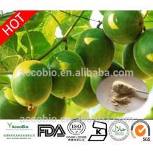 100% Natural High Quality Sweetener Organic Monk Fruit Extract 10%~55% Mogroside V Powder monk fruit extract powder