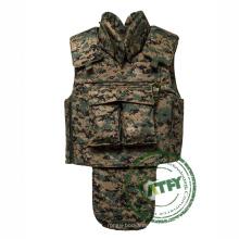 Veste balistique légère d'armure de corps tactique de costume de corps d'armure de preuve de balle de corps complet pour le militaire